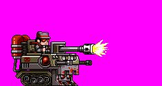 Here's some animations from Mercenary Kings by Tribute Games.