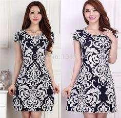 9ef809148d Aliexpress.com   Buy Vestidos L 5XL 2017 New Fashion Women Summer dress  Slim Tunic Milk Silk print Floral dresses Casual Plus Size sexy bodycon  dress from ...