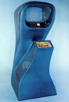 Computer Space coin operated video arcade game - 1971