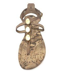 Olivia Miller Mamba Sandals – Gold