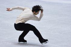 Daisuke  Takahashi of Japan men's free program  2013/2014 NHK Trophy, Mens Figure Skating / Ice Skating dress inspiration for Sk8 Gr8 Designs.