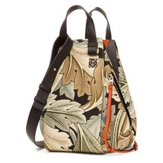 bae5c0b39834 LOEWE Hammock Camo Bag Green Multitone (9.565 RON) ❤ liked on Polyvore  featuring bags