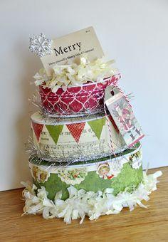 Merry+gift+boxes+~Melissa+Frances~ - Scrapbook.com