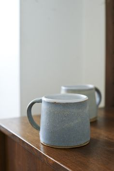 LANE & PARKWOOD POTTERY: MUG - GRANITE BLUE — Lane