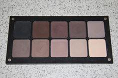 Inglot matter eyeshadows  391 / 329 / 326 / 378 / 358 363 / 360 / 344 / 390 / 353  378 - Cool dark brown taupe