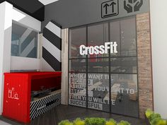 Crossfit DLX (certified) / Medellín - ColombiaInterior Design concept.