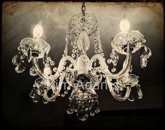 Antique Chandelier #chandelier
