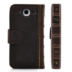 Leather Book Book Wallet Case for Samsung Galaxy S3