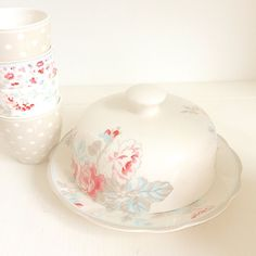 How do these match? #greengate #floral #patterns