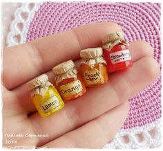 Hey, I found this really awesome Etsy listing at https://www.etsy.com/listing/209330739/a-set-of-miniature-jars-of-jam-no-3