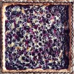 #Blueberry #Tart courtesy of Julia @cook&fun (@madamejuju on Insatgram) http://evpo.st/1yf4IKi #dessert #homemade #foodphotography   Thanks for sharing with feedfeed, a community that loves to cook/bake and share inspiration by tagging it '#feedfeed @thefeedfeed' // sign up to stay in the loop as we develop our app and community for cooking inspiration // www.feedfeed.info