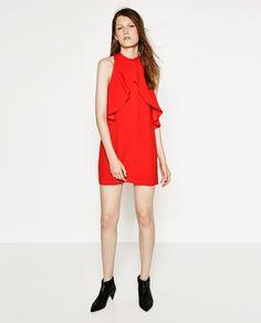 Image 1 of FLOWING MINI DRESS from Zara