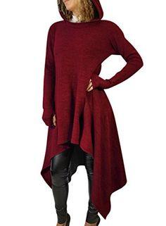 New Trending Outerwear: WLLW Women Long Sleeve Asymmetric Hem Hoodie Sweatshirt Cloak Tops Blouse. WLLW Women Long Sleeve Asymmetric Hem Hoodie Sweatshirt Cloak Tops Blouse  Special Offer: $29.99  499 Reviews WLLW Women Long Sleeve Asymmetric Hem Hoodie Sweatshirt Cloak Tops...