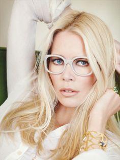 Claudia Schiffer blonde hair color idea vanilla blonde