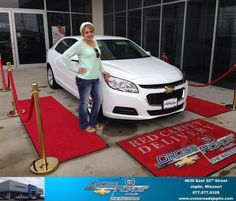#HappyAnniversary to Nayeli Aguilar on your 2014 #Chevrolet #Malibu from Phillip Burnette at Crossroads Chevrolet Cadillac!