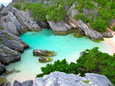 Beach on the South Shore, Bermuda