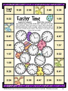 Easter Math Games Third Grade by Games 4 Learning gives you fun, Easter math for the classroom. This collection of Easter math games contains 14 printable games that review a variety of third grade skills. $