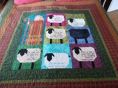 Sheep Quilt | Quilt ideas | Pinterest