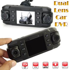 2.3   HD Dual Lens Car Vehicle Dash Dashboard Camera DVR Night Vision Recorder