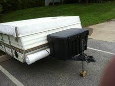 Adding storage to camper - PopUpPortal.com