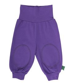 Baby-und Kinderhose Alfa Pants Dunkel Lila Green Cotton