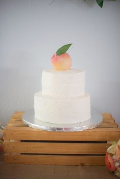 12 Best peach bday images | Food, Pastries, Desert recipes