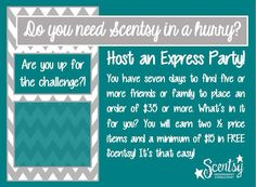 Scentsy Express Party http://ashleypaige.scentsy.us