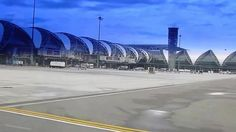 Airport Bangkok Thailand Аэропорт Бангкок Таиланд
