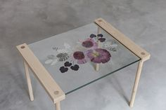 Furniture as Art: The Canvas Chair and the Blank Table by Stoft Studio - Design Milk