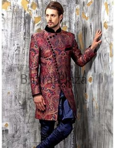 Bharat Plaza Wedding Sherwanis For Grooms 2015 Wedding Outfits For Groom, Indian Wedding Outfits, Wedding Men, Wedding Attire, Sherwani Groom, Wedding Sherwani, Indian Groom Wear, Indian Suits, Punjabi Suits