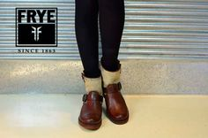 Frye canvas boots  #Motorcycle Boots #Biker Boots #Fashion #Harness Boots #Engineer Boots At Eagle Ages we love motorcycle boots.  You can find a great choice of second hands motorcycle boots in our store https://eagleages.com/shoes/boots/women-boots/cowboy-boots.html