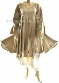 Completo Lino Renaissance Layering Dress