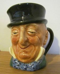 Vintage Royal Doulton Mr Micawber Toby Mug Jug Mint Condition | eBay