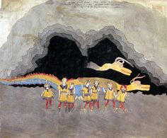 Henry Darger Blengiglomenean serpents picture