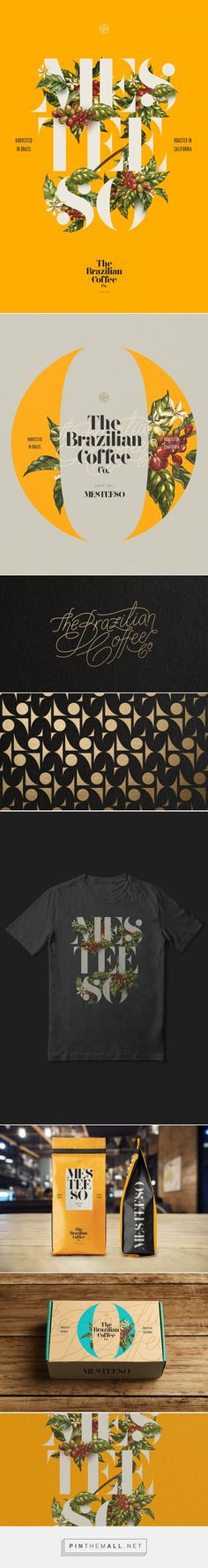 The Brazilian Coffee Co.   Mesteeso on Behance... - a grouped images picture - Pin Them All
