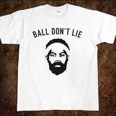 Ball Don't Lie - Type-O - Skreened T-shirts, Organic Shirts, Hoodies, Kids Tees, Baby One-Pieces and Tote Bags Custom T-Shirts, Organic Shirts, Hoodies, Novelty Gifts, Kids Apparel, Baby One-Pieces | Skreened - Ethical Custom Apparel