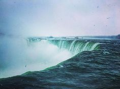 No words can describe, how beautiful and powerful these Niagara falls are. 🌊 #photooftheday #picoftheday #instadaily #follow #followme #follow4follow #followforfollow #travel #travelphotography #traveling #travelgram #travelling #travelblog #traveler #traveldeeper #instagood #instagram #winter #niagarafalls #fun #smile #photooftheday #photo #holiday #holidays #nikon #journey #canada #usa #traveldiaries