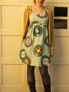 Ruby Star Washi Dress by madebyrae, via Flickr Free sewing pattern for ladies.