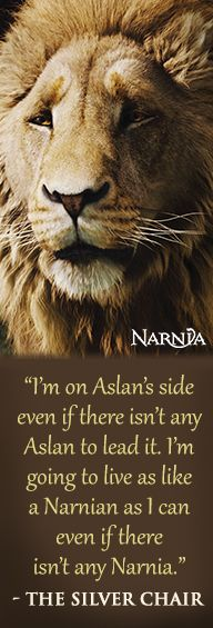 Check out this list of the Top 10 Signs You Should Live in Narnia! http://bit.ly/1u8A86K #quote #narnia