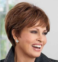 Short haircuts for older ladies really special and unique for them. If you want to join this useful trend, check these 25 Latest Short Hair Styles For Over 50 gallery. Time past so fast, but only the important situation is how you feel yourself. We can't stop the time, so we have to live our lives free and great. So, with a new short haircut, the harbinger for a new life, isn't it?