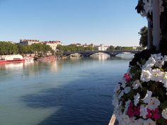 Lafayette Bridge Across Rhone River, Lyon, France