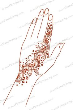 Right Click to Save Mehandi design