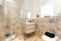 Luxury Bathrooms Kent a bright, contemporary en suite at our mulberry place development
