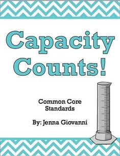 Introduce your students to the concept of volume with this extensive unit. This unit is aligned to the 3rd grade common core standards for measurement. It covers liters and milliliters, volume word problems and volume word problems using drawings of graduated cylinders. It also introduces the concepts of gallons, quarts, pints and cups.