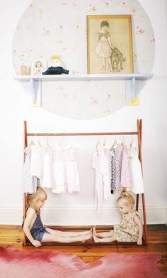 Natural Clothes Rack by SGHstore on Etsy