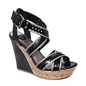 G by GUESS Women's Shoes, Bethia Platform Wedge Sandals
