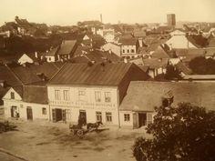 Jiráskovo náměstí r.1880