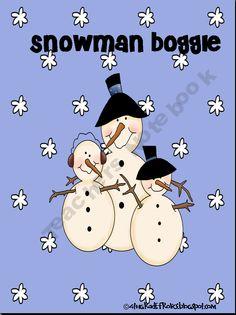451b89d1da5f Snowman Boggle from 4th Grade Frolics on TeachersNotebook.com (10 pages)