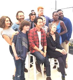 nine lives remember — The Walking Dead Family @ San Diego Comic Con '14