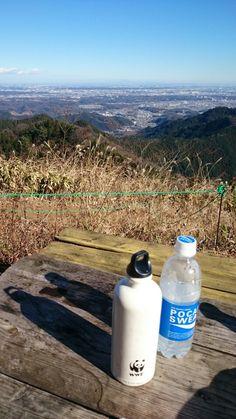 景信山から関東平野